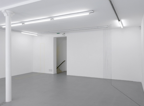 Fred Sandback – installation view 11