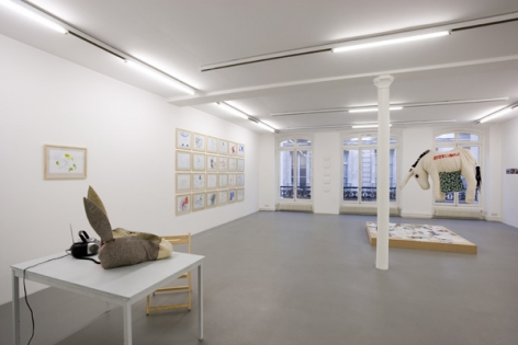 Stephen Wilks: Traveling Donkeys – installation view 4
