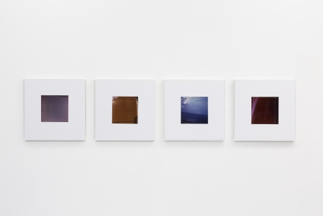 Jan Dibbets: New Colorstudies 1976/2012 – installation view 8