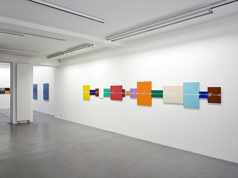 Mel Bochner, 1998-2007: Painting, sculpture and installation – installation view 3