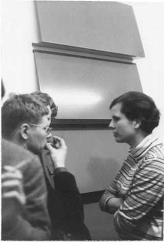 Charlotte Posenenske at Galerie h, Hanover, 1967