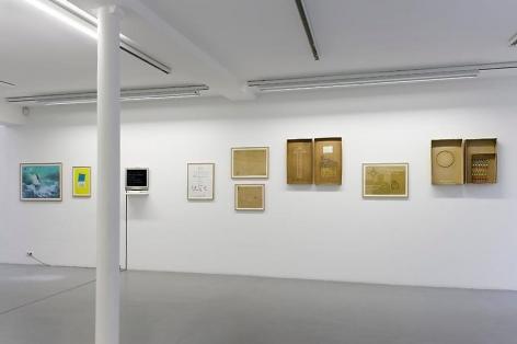 Robert Filliou:Je Meurs trop– installation view 6