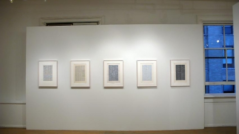 Jan Schoonhoven: Drawings– installation view 6