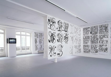 Matt Mullican:Love, Work, Truth and Beauty– installation view 2