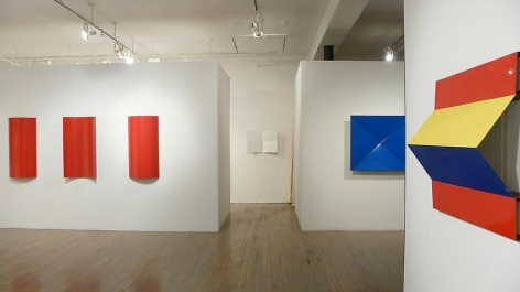 Charlotte Posenenske: Prototypes for Mass Production (1965 - 1967) – installation view 1
