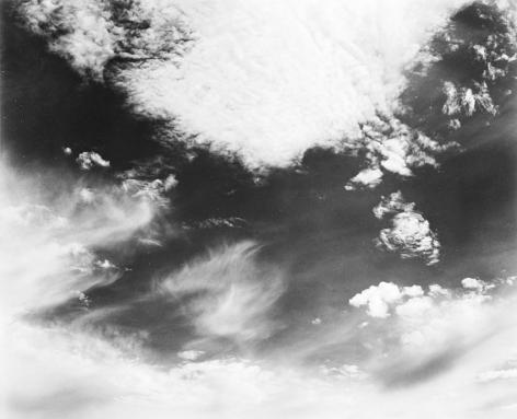 Edward Weston Clouds, Santa Monica