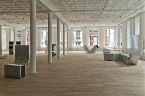 Charlotte Posenenske, Artist Space, New York