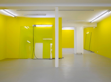 Pedro Cabrita Reis: Abstr(action). – installation view 1