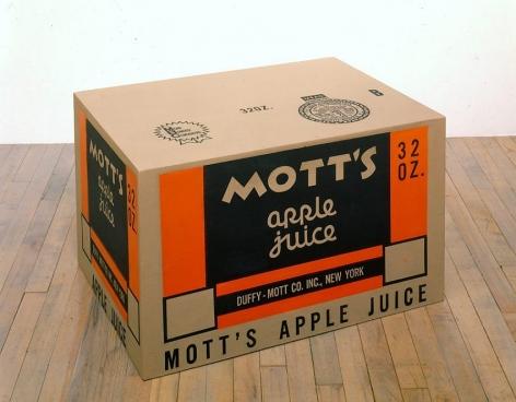 "Andy Warhol, Mott""s Apple Juice Box"