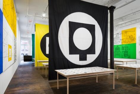 Matt Mullican: Pantagraph– installation view 11