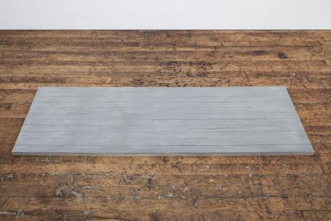 ALEX HAY, Untitled (Plank–Gray)