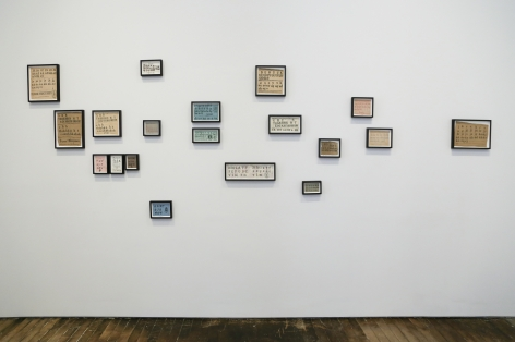 David Adamo / James Castle – installation view 7