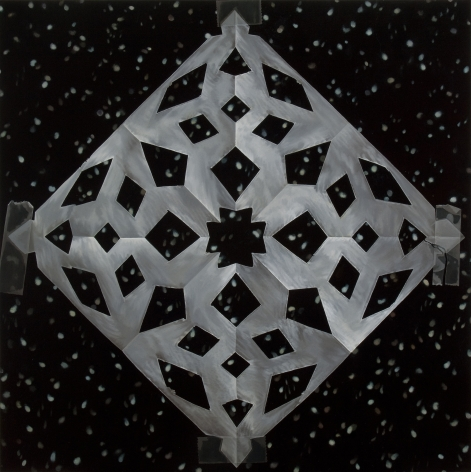 Snowflakes 2011 oil on canvas