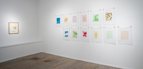 Thomas Schütte: New Watercolors (at 560 Broadway)– installation view 2