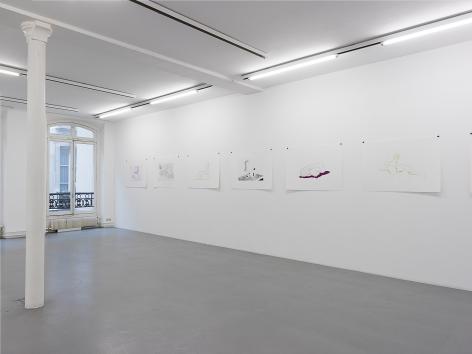 Thomas Schütte: Woodcuts 2011– installation view 8