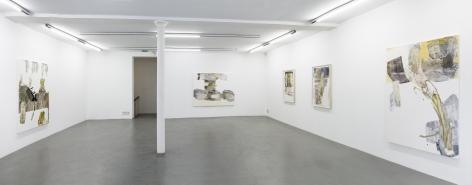 Pia Fries: wetter fahnen fächer– installation view 5