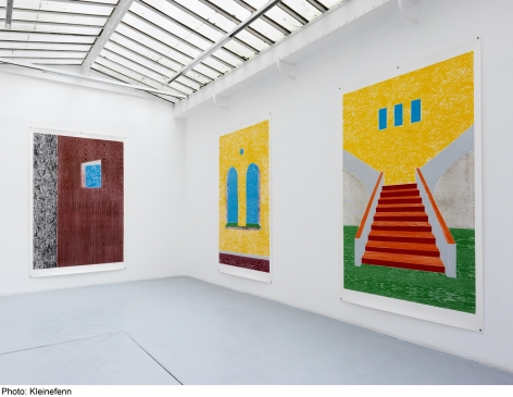 Thomas Schütte: Woodcuts 2011– installation view 5