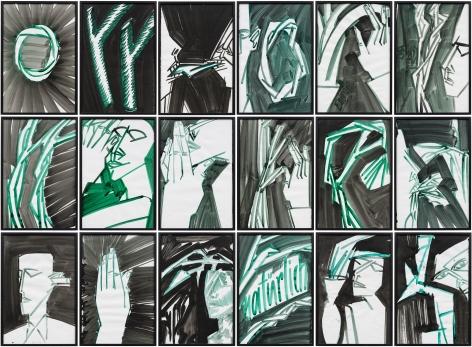 Zeichnungen (El Vegetal Como Sujeto) (C), c. 1992