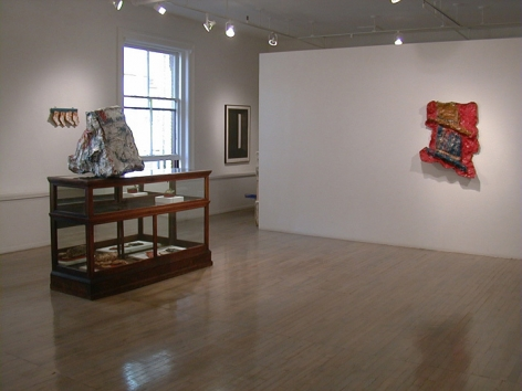 Claes Oldenburg: Works from the Store, 1961 – installation view 1