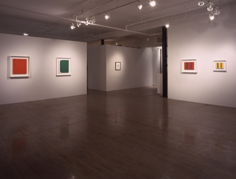 Ellsworth Kelly: Small Paintings, 1955 - 63 – installation view 2