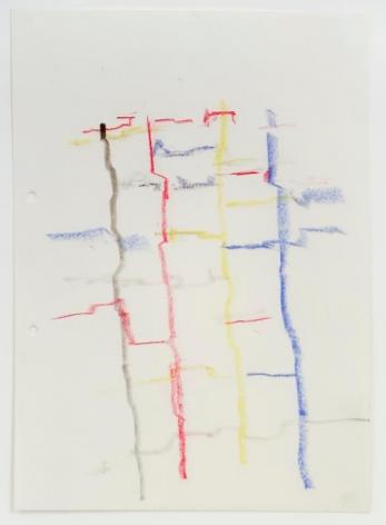 Charlotte Posenenske Zeichnung (Landschaft) [Drawing (Landscape)]