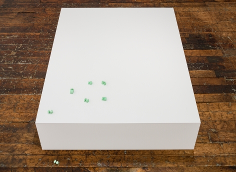 David Adamo Untitled (12 packing peanuts)