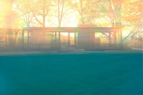 James Welling, 6063 (Glass House)