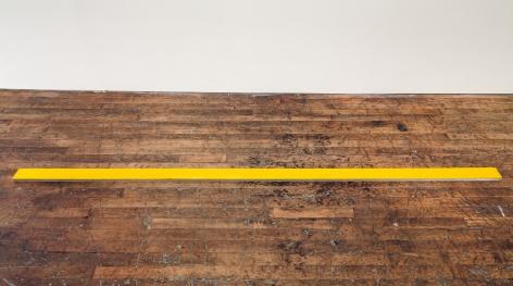ALEX HAY, Untitled (Long Plank–Yellow)