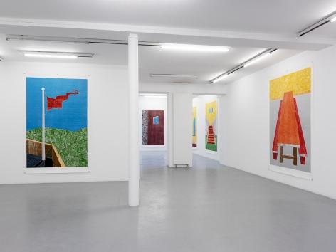 Thomas Schütte: Woodcuts 2011 – installation view 1