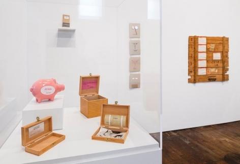 Souvenirs de Paris– installation view 7