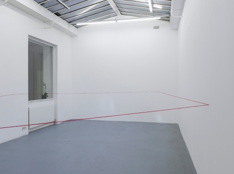 Fred Sandback – installation view 7