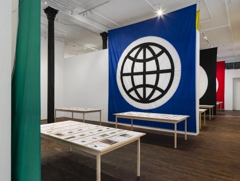 Matt Mullican: Pantagraph – installation view 1