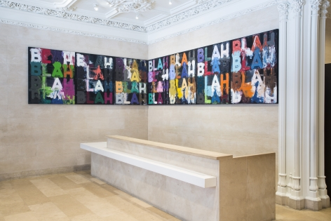 Mel Bochner – Strong Language, Jewish Museum, New York, NY.