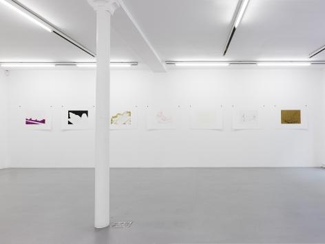 Thomas Schütte: Woodcuts 2011– installation view 9