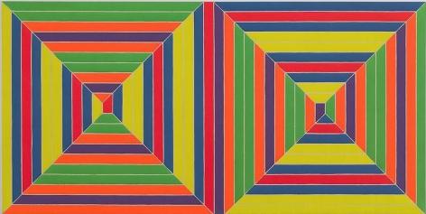 Frank Stella, Double Mitered Maze