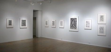 Jan Schoonhoven: Drawings– installation view 3