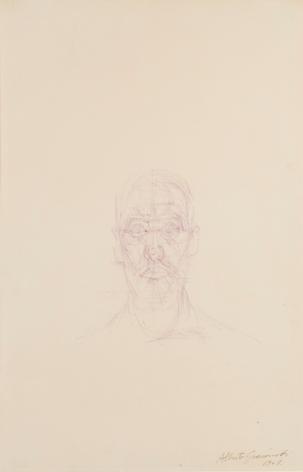 Alberto Giacometti Portrait de Louis Chavignier