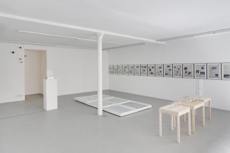 Push Pins in Elastic Space, curated by Gabriel Kuri– installation view 6
