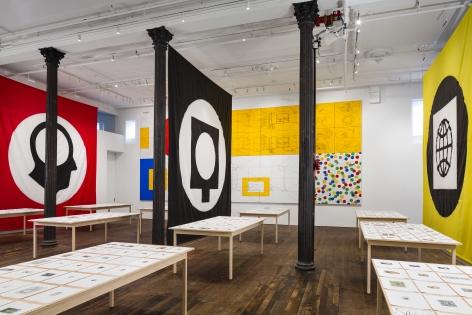 Matt Mullican: Pantagraph– installation view 8