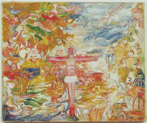 James Ensor Le Christ agonisant (Christ in Agony)