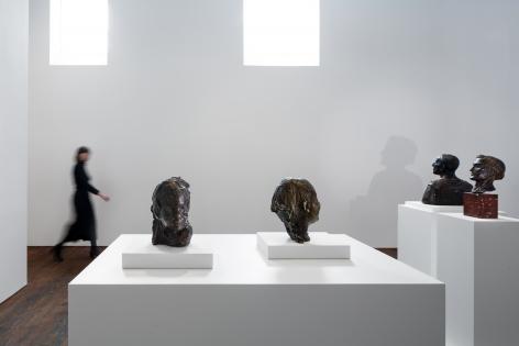 Medardo Rosso: Ten Bronzes– installation view 4