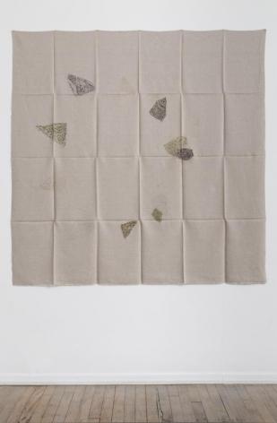 Helen Mirra, Hourly directional field notation, 17 August, Handen