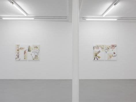 Pia Fries: Merian's Surinam– installation view 10