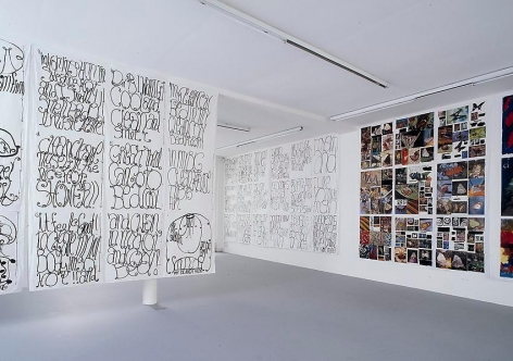 Matt Mullican:Love, Work, Truth and Beauty – installation view 1