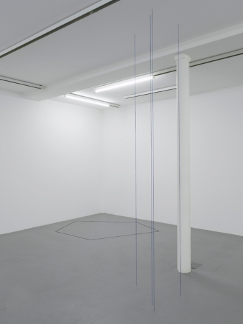 Fred Sandback – installation view 3