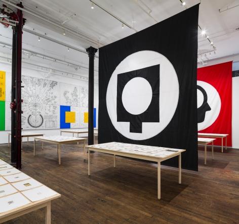 Matt Mullican: Pantagraph– installation view 5