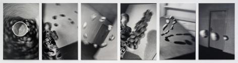 Küchenkoller 1985/2016 6 gelatin silver prints mounted on foam core
