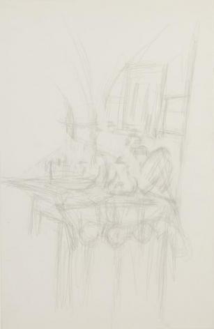 Alberto Giacometti Intérieur à Stampa