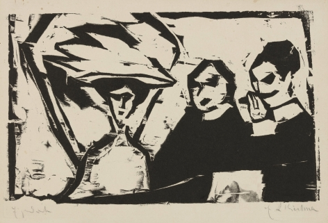 Ernst Ludwig Kirchner, THEATERLOGE