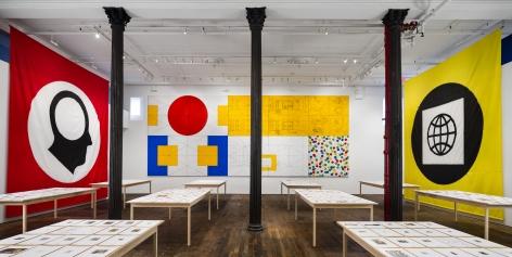 Matt Mullican: Pantagraph– installation view 9